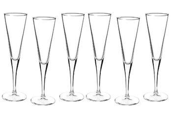Набор бокалов для шампанского Ypsilon 4шт 160ml