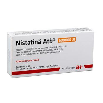 cumpără Nystatin 500000UI comp. film. N10x2 în Chișinău