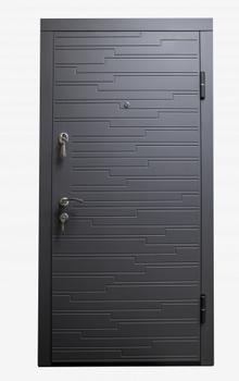 Дверь металлическая Diplomat 66 960x2050x70 мм венге