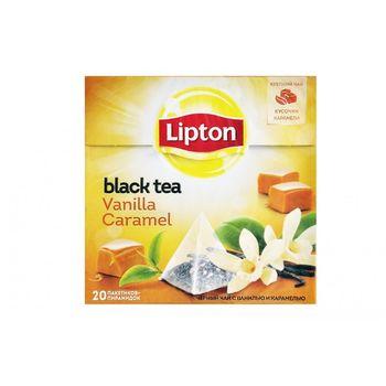 купить Lipton Nirvana Vanilla Caramel, 20 пак. в Кишинёве