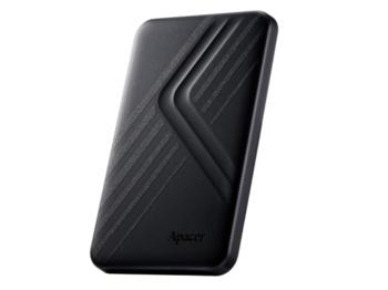 """cumpără 2.0TB (USB3.1) 2.5"""" Apacer AC236 Ultra-Slim Portable Hard Drive, Black (AP2TBAC236B-1) în Chișinău"""