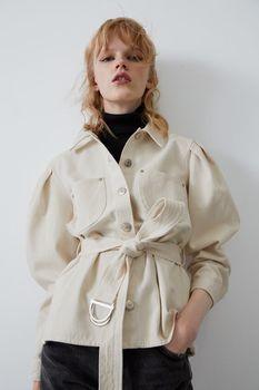 Куртка ZARA Бежевый 6929/205/251