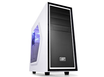 "DEEPCOOL ""TESSERACT SW WHITE"" ATX Case,  with Side-Window, without PSU, Massive metal mesh, Tool-less"