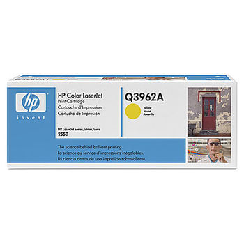 HP Color LaserJet 2550/2820/2840 Print Cartridge,Yellow (4000pages) Q3962A