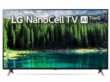 "49"" TV LG 49SM8500PLA, Black (SMART TV)"