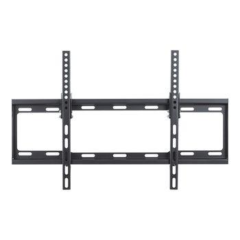 "TV-Wall Mount for 32-70"" - PureMounts ""BT600"", Tilted, up to 35kg, Tilt: 0/ -14°,  25mm wall distance, max.VESA 600x400, Steel black"