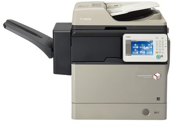 MFP Canon iR ADV 400i, Mono Copier/Network Printer _Color Scanner, DADF, Duplex, A4/40ppm, 25–400%, RAM 512Mb, 1x550-sheet Cassette, Touch Operat panel, Drum Unit C-EXV39_139000 pages, Not in set - Toner  Black C-EXV39_30200 pages A4 at 6%