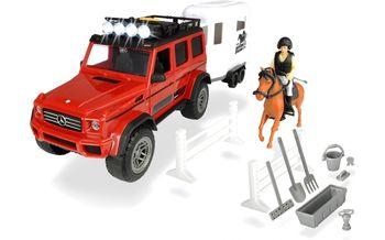 купить Dickie Перевозка лошадей с внедорожником, 40 cм в Кишинёве
