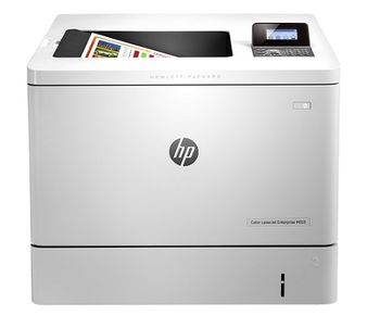 HP Color LaserJet Pro M553n Printer, Up to 38ppm, 1200x1200 dpi, Up to 80000 p., 1GB DRAM, 4 line LCD display,  PCL 5c/6, Postscript 3, USB 2.0, Ethernet 10/100Base-TX, HP ePrint, Apple AirPrint™, White