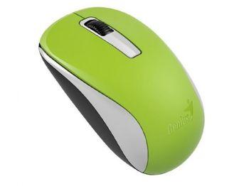 купить Wireless Mouse Genius NX-7005, Optical, 800-1600 dpi, 3 buttons, Ambidextrous, BlueEye, 1xAA, Green в Кишинёве