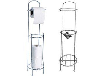 Держатель для туалетной бумаги с резервом 65cm, хром