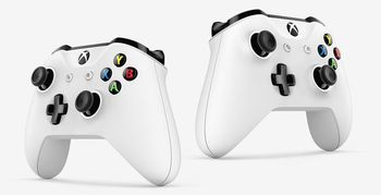 купить Microsoft Xbox One S 1TB White, 2 x Gamepad (Xbox One Controller) в Кишинёве