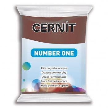 Полимерная глина CERNIT N1 56г, коричневый №800