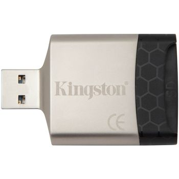 Card Reader Kingston MobileLite G4, USB3.0, SD/SDHC/SDXC, microSD/SDHC/SDXC, Dual Slot