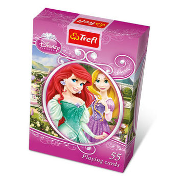 "08605 Trefl ""Playing Cards 55 leaves for children"" Princess / Disney Princess"