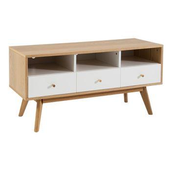 cumpără Comodă din lemn cu trei sertare, 1240.5x440.5x220 mm în Chișinău