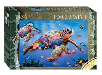 """Мозаика """"puzzle"""" 1456 """"Черепахи"""" (Пазл в пазле), код 40794"""