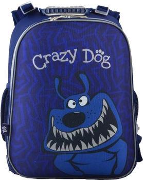 """Школьный рюкзак """"Crazy Dog"""" Yes I синий"""