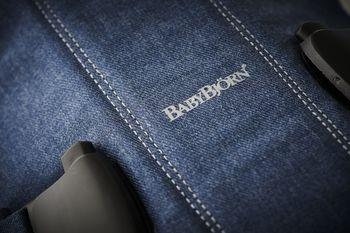 купить Анатомический  рюкзак-кенгуру BabyBjorn One Denim Midnight Blue в Кишинёве