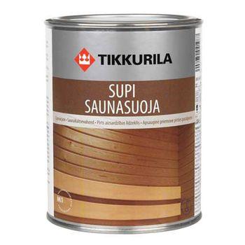 Tikkurila Лак для защиты бани Supi Saunasuoja 0.9л