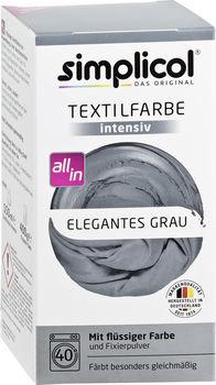 купить SIMPLICOL Intensiv - Краска для окрашивания одежды в стиральной машине, элегантный серый в Кишинёве