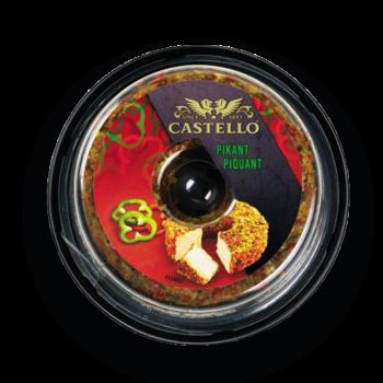 CASTELLO ™ Crema de brinza PICANT 125 g.