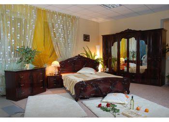 """Спальня """" Олимпия """" с 6 дверями, красное дерево"""