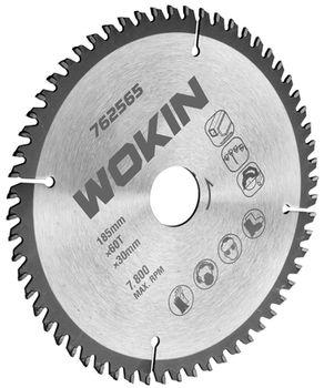 купить Отрезной диск по дереву 230MM*60T*30MM Wokin в Кишинёве