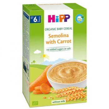 купить Hipp каша пшенично-рисовая органическая безмолочная с морковью, 6+мес. 200г в Кишинёве