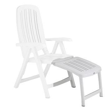 Подставка для ног для кресла Nardi POGGIAPIEDE 45 BIANCO 40296.00.000 (Подставка для ног для кресла Nardi Salina)