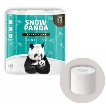 Туалетная бумага PANDA ExtraCare Sevsitive 3 слоя 20.8м*8