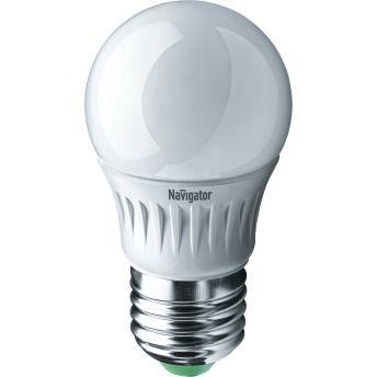 Лампа светодиодная ( холодный белый свет) NLL-G45-7-230-4K-E27,  7W