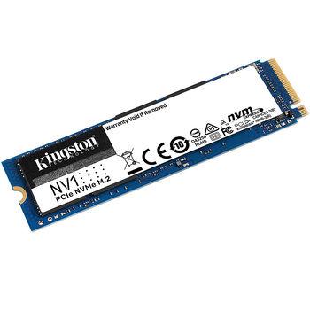 1TB SSD M.2 Type 2280 PCIe NVMe 3.0 x4 Kingston NV1 SNVS/1000G, Read 2100MB/s, Write 1700MB/s (solid state drive intern SSD/внутрений высокоскоростной накопитель SSD)