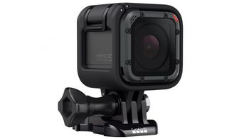 Action Camera GoPro HERO5 Session™, Photo-Video Resolutions:10MP/30 FPS Burst Time Laps-4K30/1440P60/1080P90, waterproof without a housing down to 10m, voice commands, advanced image stabilzation, compact size, Battery built-in,74g
