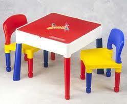 Tega Cтол с 2 стульями для детей