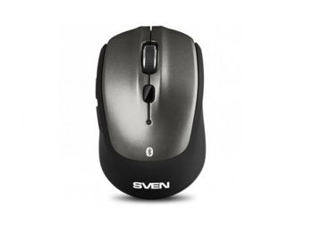 купить Wireless Mouse SVEN RX-585SW Silent, Optical, 1000-1600 dpi, 6 buttons, Ambidextrous,BT+2.4Ghz, Grey в Кишинёве