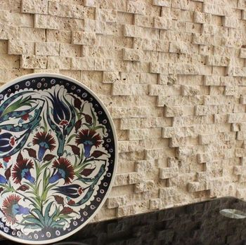 купить Классическая травертиновая мозаика, скульптурная 2,5 х 5 см в Кишинёве