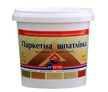 Ирком Шпатлевка для паркета ИР-33 Дуб красный 1.5кг