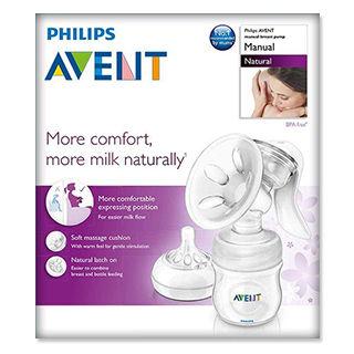 купить Ручной молокоотсос Philips AVENT с бутылочкой в Кишинёве