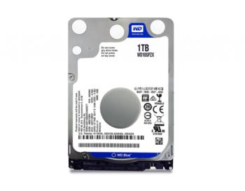 2,5-дюймовый жесткий диск 1,0 ТБ Western Digital «Синий (WD10SPZX)» [SATA3, 128 МБ, 5400 об / мин, 7,0 мм]