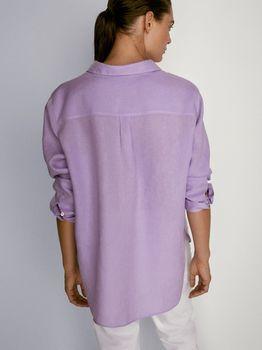 Блуза Massimo Dutti Фиолетовый 5104/512/612