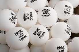 Мяч для настольного тенниса Tibhar Basic 40+ SL бесшовный (886) (seamless)
