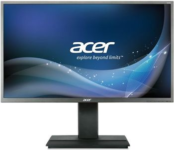 "32.0"" ACER IPS LED B326CK 4K ZeroFrame Black/Silver (5ms, 21:9, 100M:1, 300cd, 3440x1440, 178°/178°, DisplayPort, HDMI, USB Hub: 4 x USB3.1, Speakers 2 x 3W, VESA) [UM.JB6EE.B01]"