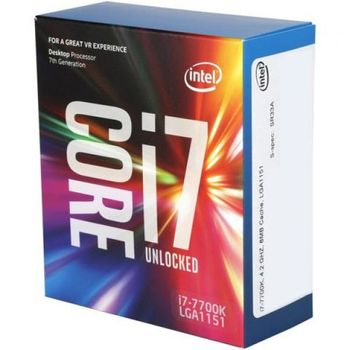 купить Intel Core i7-7700K, S1151 4.2-4.5GHz Box в Кишинёве