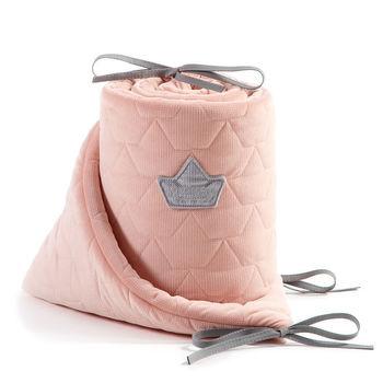 cumpără Borduri de protectie pentru patut LaMillou Velvet Collection Powder Pink în Chișinău