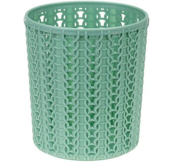 купить Стакан в ванную круглый пластик ВЯЗАНИЕ М2384 в Кишинёве