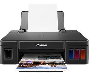 Printer Canon Pixma G1411, A4, 4800x1200dpi_2pl, ISO/IEC 24734 - 8.8 / 5.0 ipm, 64-275g/m2, LCD display_6.2cm, Rear tray: 100 sheets, USB 2.0, 4 ink tanks: GI-490BK (12 000 pages*),GI-490C,GI-490M,GI-490Y(7 000 pages*) & Colour: 2000 Photos*(10x15)
