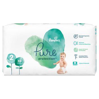 cumpără Scutece Pampers Pure Protection  2 (4-8 kg) 39 buc în Chișinău