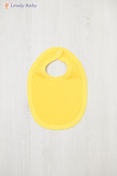 Слюнявчик, желтый