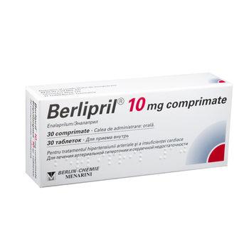 cumpără Berlipril 10mg comp. N10x3 în Chișinău